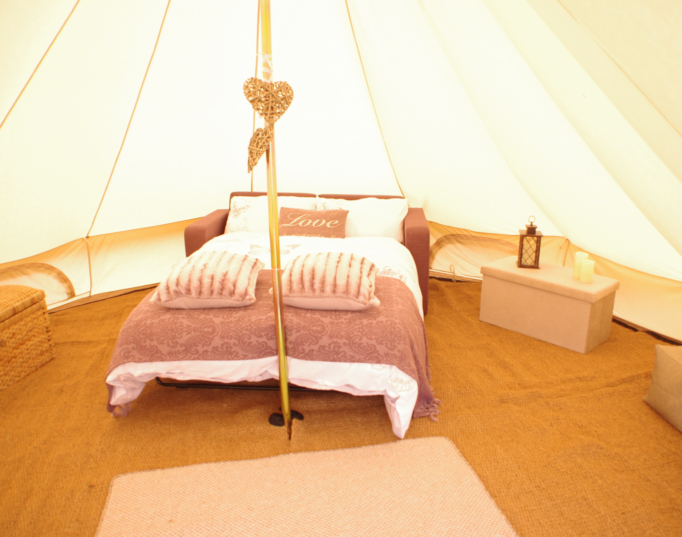 Glamping at Mablethorpe at Standen Lodge Campsite